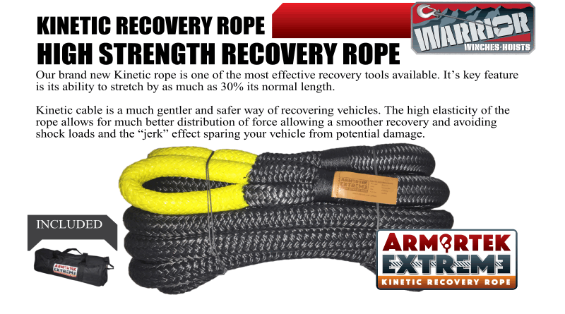 Armotek Extreme – KINETIC RECOVERY ROPE